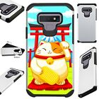 FUSIONGuard For Samsung Galaxy NOTE 9 8 S9 S8 PLUS Phone Case LUCKY CAT