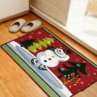 Cartoon Christmas printing Doormat Area Rugs Carpet Mat Floor Kitchen Bathroom