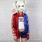 Kids Suicide Squad Harley Quinn Cosplay Fancy Costume Costume Outfit Halloween