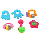 6pcs Baby Toys Kids Rattle Toddler Music Toy Hand Jingle Shaking Bell Jian