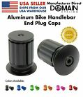 Aluminum Bike Handlebar Bar End Plug Caps Bicycle MTB Road - Domain Cycling