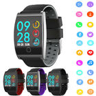 QS05 Smart Watch Heart Rate Blood Pressure Monitor Exercise Pedometer Tracker US