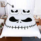 The Christmas Jack Skellington Face Duvet Cover Bedding Set Bt15