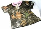 Mossy Oak Camo Camouflage & Pink Girl's Shirt - Kid's Camo Clothes