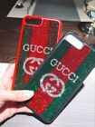 For iPhone 7 Return Gucci set Swarovski Sparkling Case cover with retail package