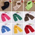 Внешний вид - Kids Boy Girl Toddler Wool Knitted Scarf Long Loop Head Neck Wrap Shawl Hijab