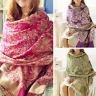 Womens Lady Long Soft Warm Cashmere Scarf Wrap Large Winter Shawl Stole Pashmina