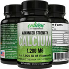 Calcium Advanced Strength 1,200 MG + Vitamin D3 - Increase Bone Strength on eBay