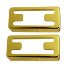 Pack of 2 Guitars H-Shape Humbucker Pickup Covers Musical Instrument Parts