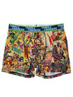 Transformers Mens Comic Book Panel Performance Fabric Boxer Briefs Boxers