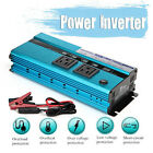 4000Watt Peak Power Inverter DC 12V to 110V 120V AC Converter Adapter Charger