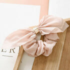 1PC Women Elastic Bow Knot Hair Rope Ring Tie Scrunchie Ponytail Holder HairBand