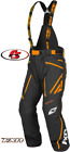 New 2020 FXR Men's Mission X Pant Bibs Snowmobile Black/Orange MD LG XL 2XL