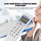 Corded Phone with Caller ID Home Office Desk Wall Mount Landline Telephone Home