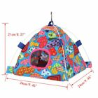 Pet Rat Hamster Parrot Squirrel Bird Hammock Hanging Hut Bed Cave Cage House Toy