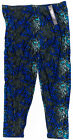 LEGGINGS DEPOT Ultra Soft Swirl Print Capri Leggings 3XL-5XL