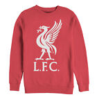 Liverpool Football Club Bird Logo Mens Graphic Sweatshirt