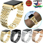 Bling Diamond Watch Band Bracelet Strap For Apple Watch 38/42MM Stainless Steel image