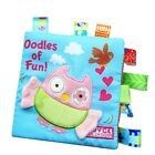 Soft Cloth Book Baby Toy Early Learning Education Animals Book Infant Toys New