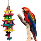 Macaw Parrot Toy Bird Hanging Bells Swing Toy Chew On Cages Cockatoo Stand Rack
