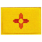 New Mexico Flag Embroidered Patch