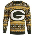 Forever Collectibles NFL Men's Green Bay Packers Aztec Print Ugly Sweater