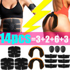 Smart Stimulator Training Fitness Gear EMS Muscle Trainer Abdominal Toning Belt image