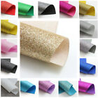 FINE GLITTER FABRIC *17 COLOURS* SPARKLE MATERIAL *A4, A5 & MINI ROLL* CRAFTS UK