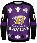 Baltimore Ravens Ugly Sweater - ALMOST RIGHT - New Christmas Holiday Party Crew on eBay