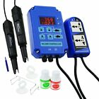 Digital pH ORP Redox 2 in 1 Controller Monitor w/ Output Power Relay Control