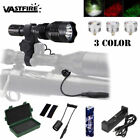 Red/Green/White 400 Yard Predator Coyote Hunting Flashlight Light Hog Fox Lamp
