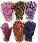 LADIES, FUZZY, MULTI COLORED GLOVES, SOFT, WARM, ADORABLE COLORS