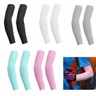 1/5 Pairs Cooling Arm Sleeves Cover UV Sun Protection Outdoor Golf Sports Unisex