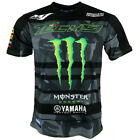 Tech 3 Yamaha Monster Moto GP Racing Team All Over Printed T shirt Official 2018