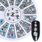 3D Glitters Nail Art Rhinestones Series Acrylic Manicure Tips Decoration Wheel