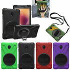Defender Rotating Stand Shockproof Case Cover For Samsung Galaxy Tab A 8.0 T380