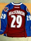 NATHAN MacKINNON COLORADO AVALANCHE NHL PREMIER JERSEY NWT MENS SIZES $63.96 USD on eBay