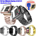 Stainless Steel iWatch Band Wrist Strap For Apple Watch Series 1/2/3/4 38mm 42mm image