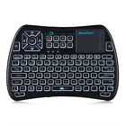 IPazzPort Mini Wireless 68 Keys Keyboard Colorful Backlit Mouse With Touchpad