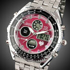 INFANTRY Mens Digital Watches Chronograph Military Army Sport Stainless Steel