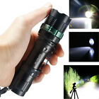 Tactical 90000LM T6 LED 18650 Super Bright Zoomable Flashlight Torch Light Lamp