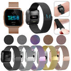 Kyпить For Fitbit Versa Metal Milanese Magnetic Loop Strap Stainless Steel Wrist Band на еВаy.соm