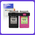Black $ Color Ink Cartridge Compatible for HP 65XL & 56 & 57
