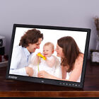 "17 ""1080P LED Digital Photo Frame Picture Clock Calendar MP3/4 Movie Player"