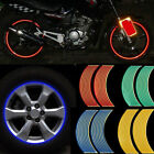 Motorcycle Decoration Reflective Rim Tape Tire Decals Car Decor Wheel Stickers