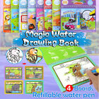 Kids Toys  Coloring Pamphlet Water Drawing Book  Magic Doodle Painting Board