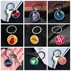 NBA Basketball Team Keychain Silver Car Key Glass Keyring Pendants Xmas Gifts on eBay