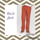 Boys Cat and Jack Brown Pants with Adjustable Waistband NWOT Multiple Sizes