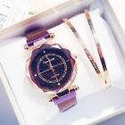 Luxury Women Starry Sky Watch Magnet Strap Buckle Fashion Star Watch Lover Gift image