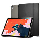iPad Pro 11, 12.9 Spigen® [Smart Fold] Black Auto On&Off Protective Cover Case
